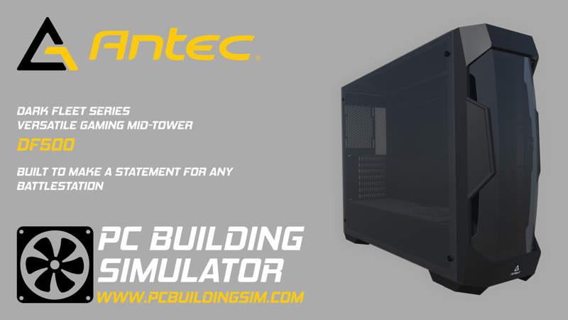 Antec lleva sus mejores componentes a PC Building Simulator