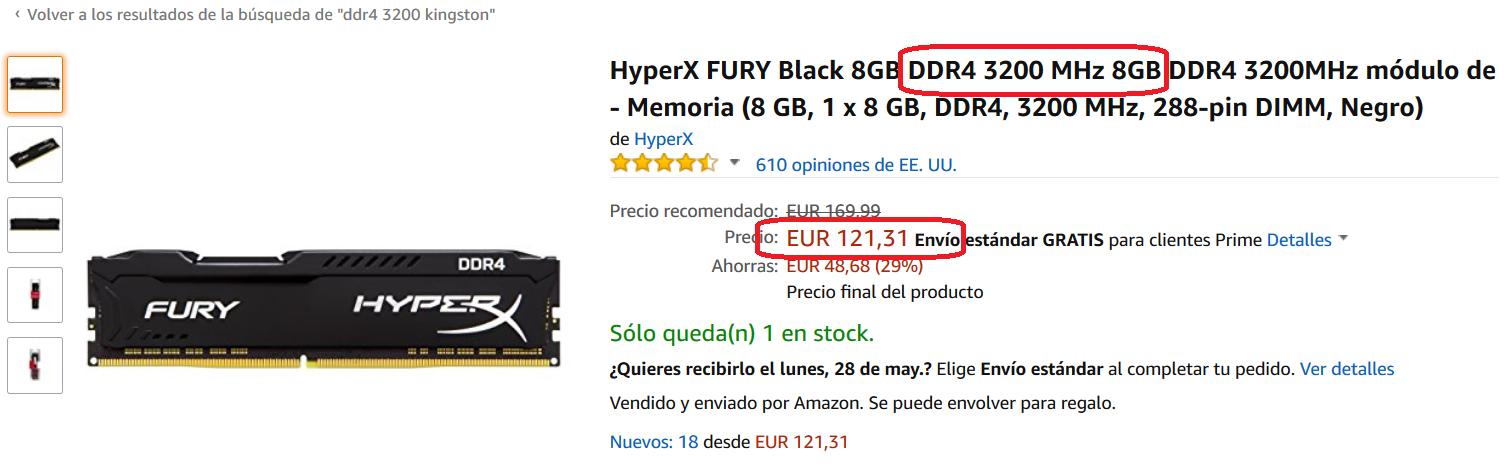 Cuanta RAM necesito en mi ordenador y que velocidad es mejor