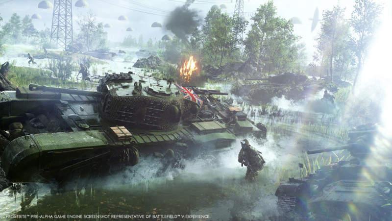 DICE habla de algunas novedades de Battlefield V