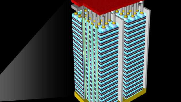 La memoria 3D NAND alcanzará las 120 capas en 2020
