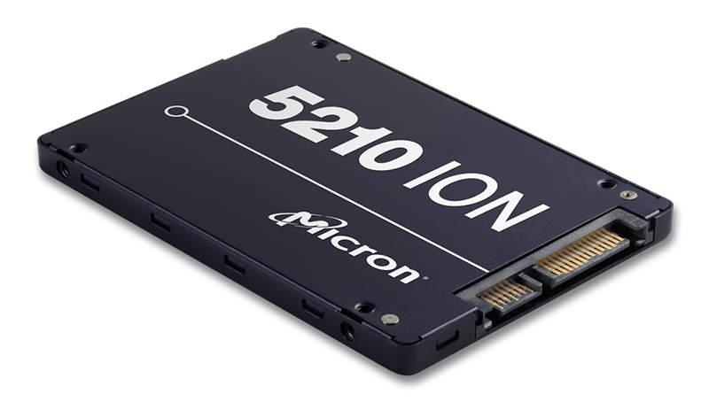 Micron 5210 ION, nuevo SSD con memoria QLC de 96 capas