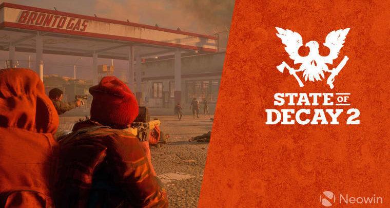 Photo of Microsoft regala State of Decay 2 con la compra de Xbox One X