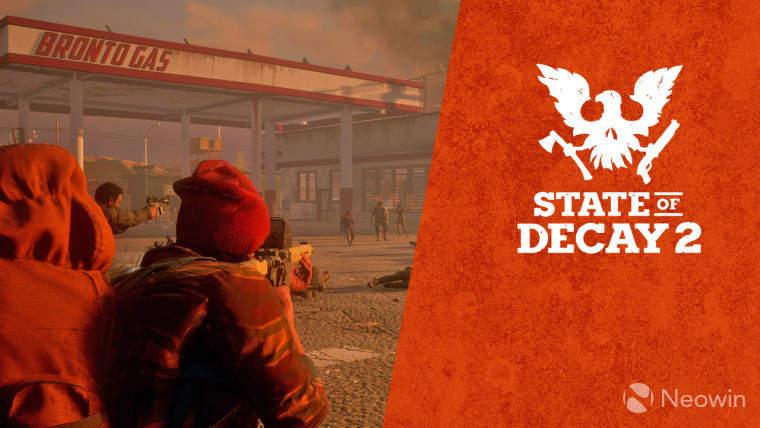 Microsoft regala State of Decay 2 con Xbox One X