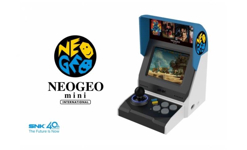 Neo Geo Mini se hace oficial
