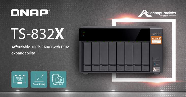 Nuevo NAS QNAP TS-832X