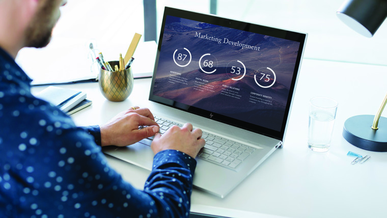 Nuevos equipos HP Envy con procesadores Coffee Lake