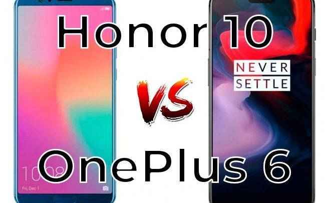 Photo of OnePlus 6 vs Honor 10: ¿Cuál es el mejor de los dos?