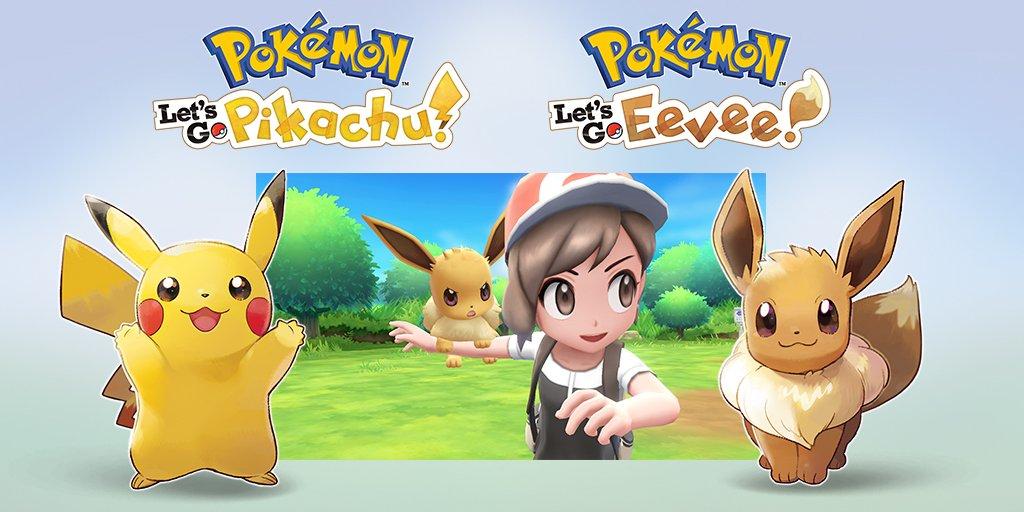 Pokémon Let's Go, Pikachu! y Pokémon Let's Go, Eevee!
