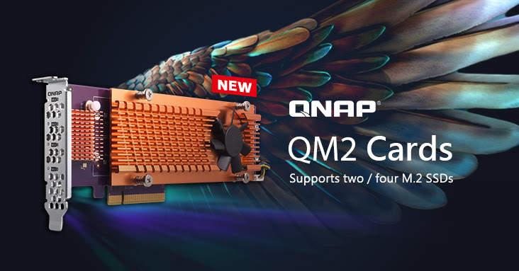 Nuevas tarjetas QNAP QM2 PCIe