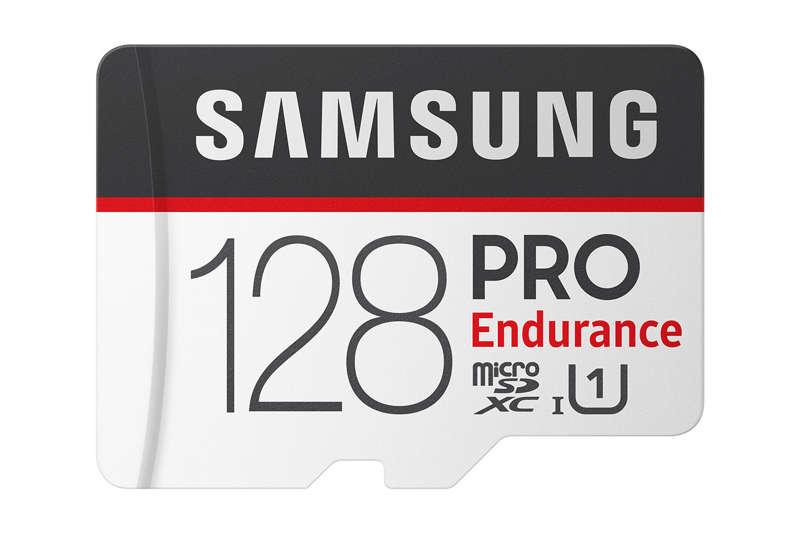 Nuevas tarjetas Samsung PRO Endurance para grabación de vídeo