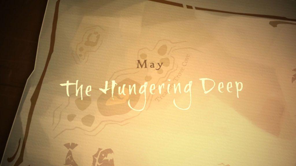 Sea of Thieves The Hungering Deep llega este mismo mes de mayo