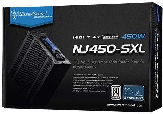 SilverStone Nightjar NJ450-SXL