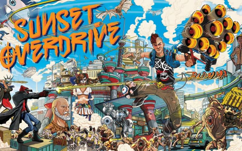 Sunset Overdrive sería anunciado para PC en el E3 2018