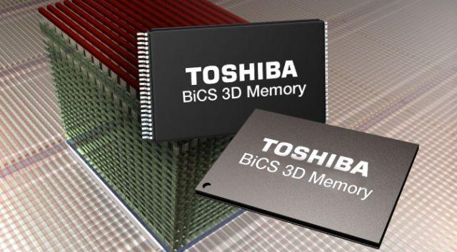 Toshiba crea una nueva fábrica para producir chips BiCS de 96 capas