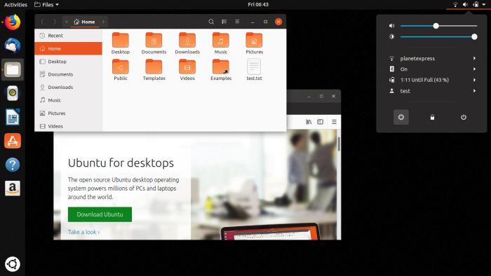 Ubuntu 18.10 será más eficiente con la batería de los portátiles