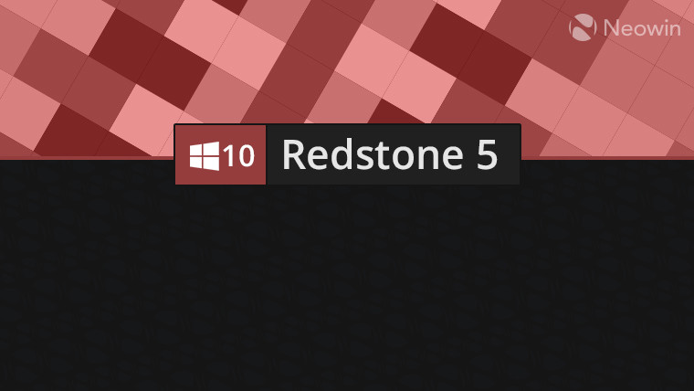 Windows 10 Redstone 5 ya se está cocinando