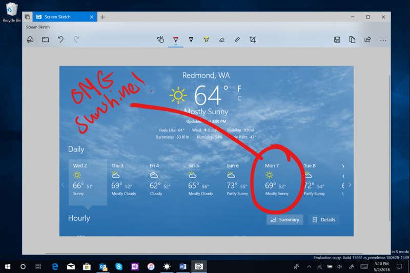 Windows 10 tendrá su propia herramienta para captura la pantalla