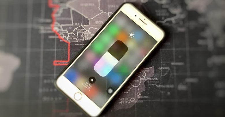 Ajustar brillo automatico iOS 11
