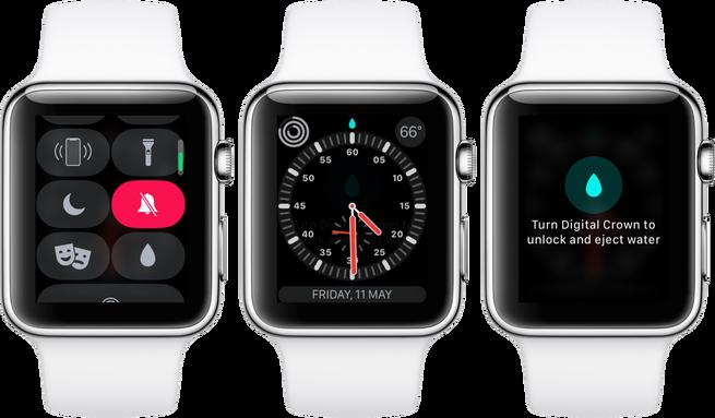 Cómo activar el bloqueo de agua en tu Apple Watch