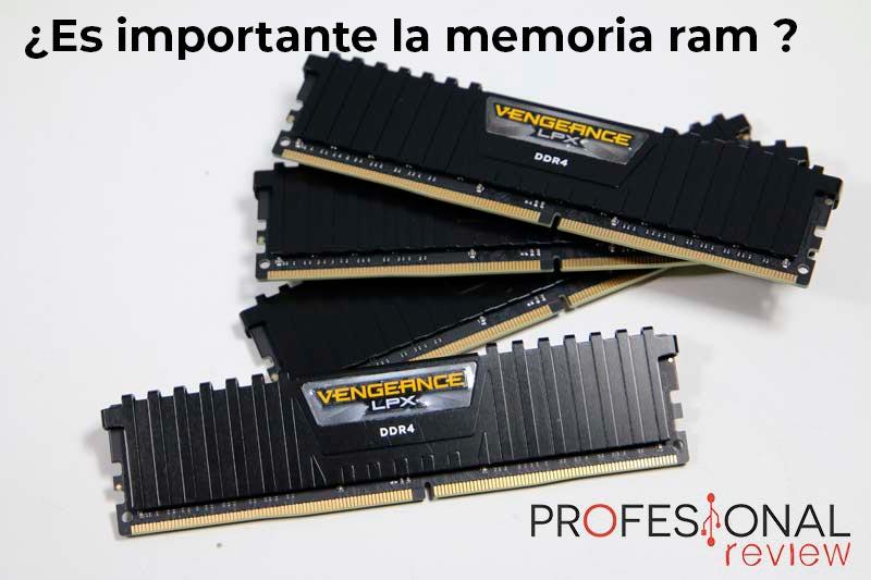 Por qué es importante la memoria ram