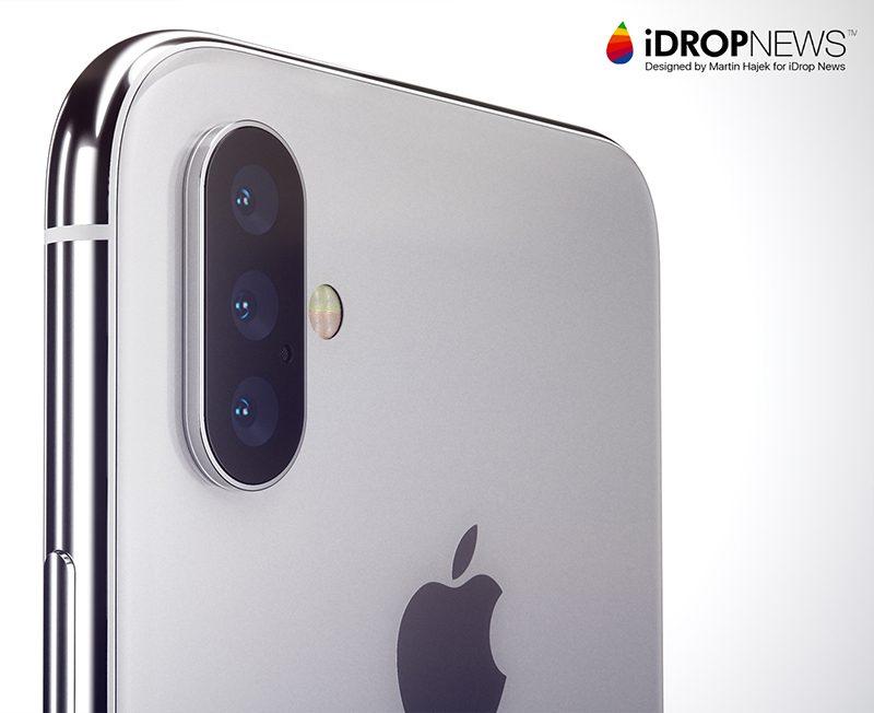 El iPhone podría incorporar una triple cámara principal