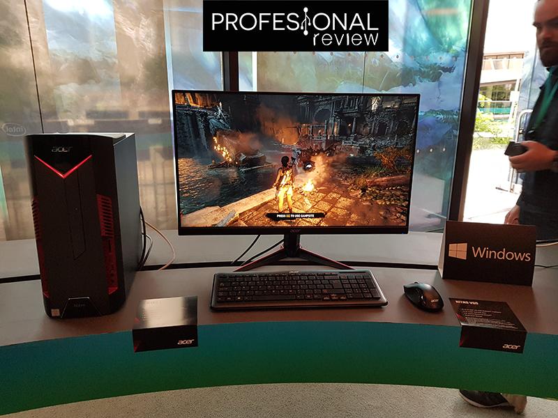 Acer Nitro y monitor