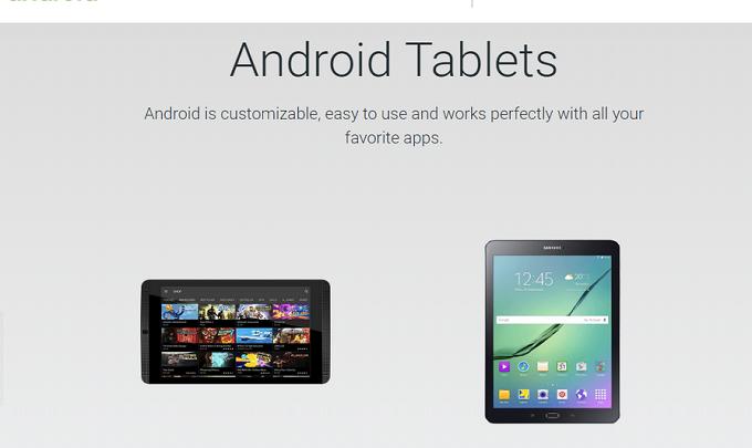 Photo of Google elimina la sección de tablet de su web oficial