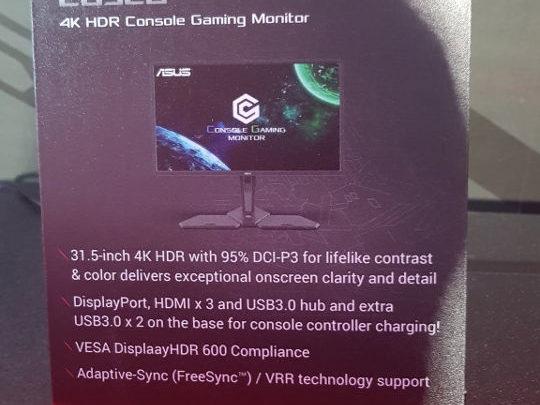 Photo of Asus CG32U, un monitor 4K HDR enfocado a consolas