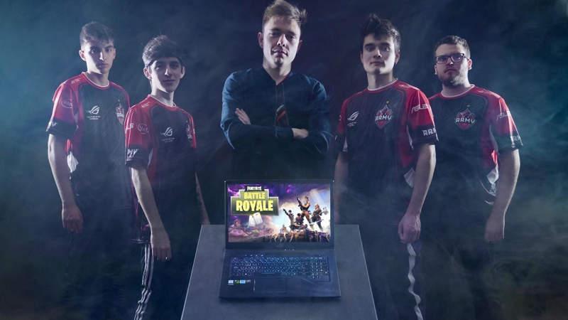 Asus ROG Army hace oficial su equipo de competición en Fortnite