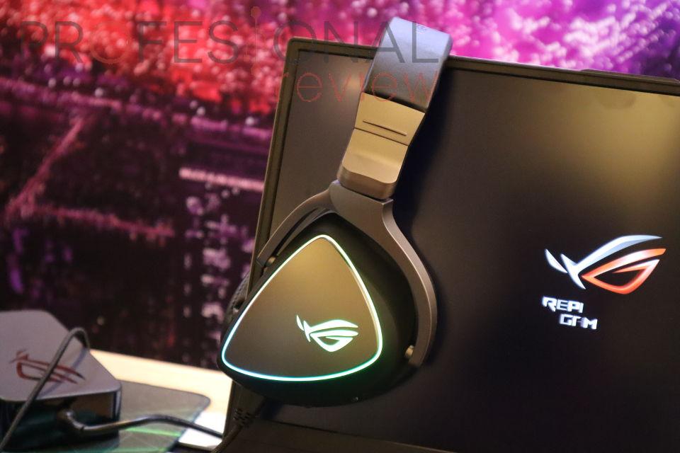Nuevo headset Asus ROG Delta