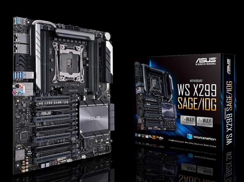 Asus WS X299 SAGE 10G con dos puertos 10 GbE