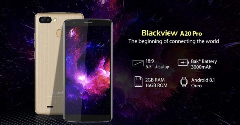 Photo of Blackview A20 Pro: El smartphone con Android 8.1 Oreo más barato