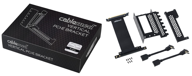 CableMod te ayuda a montar la tarjeta gráfica en vertical