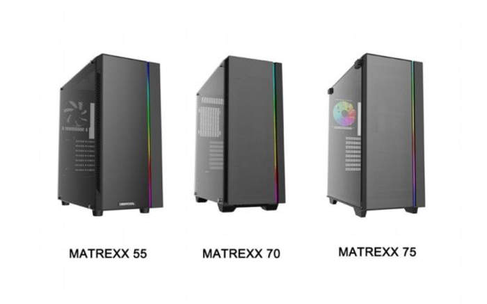 Deepcool Matrexx, nuevos chasis minimalistas y de gran calidad