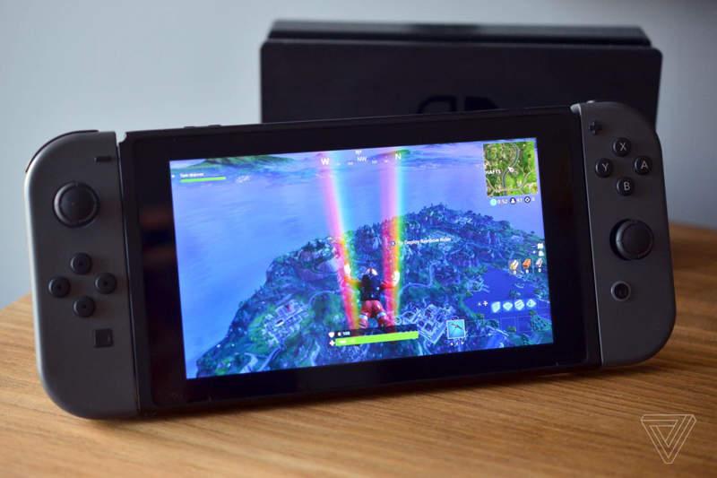 Fortnite arrasa en su estreno en la Nintendo Switch