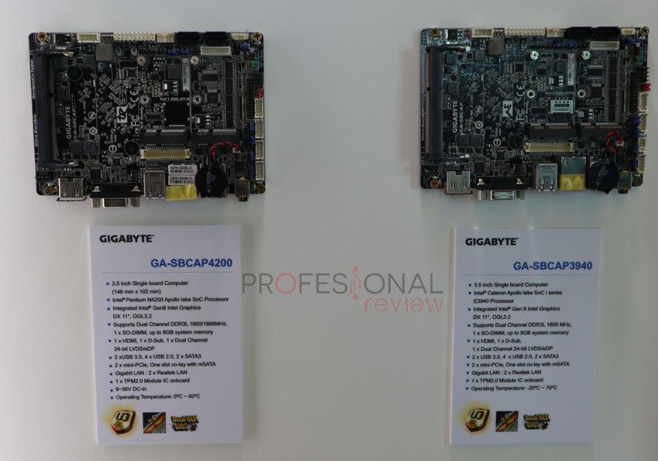 Gigabyte GA-SBCAP4200 y Gigabyte GA-SBCAP3940