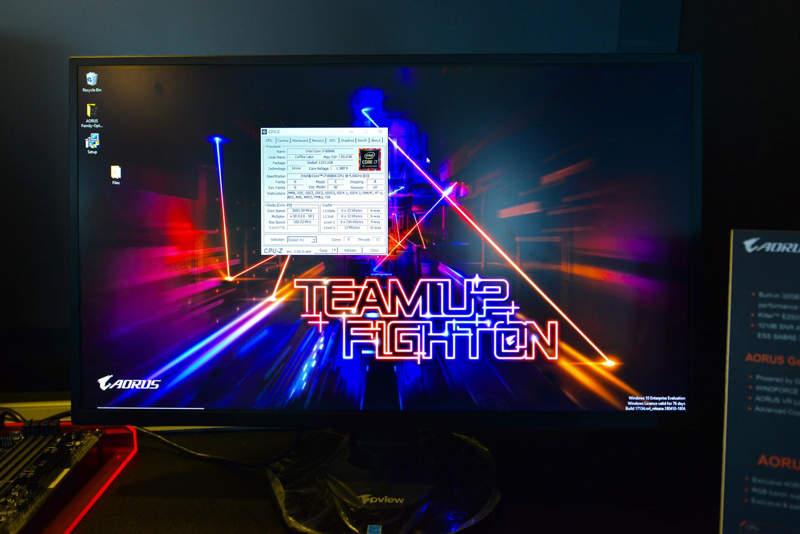 Gigabyte Z370 ofrece pleno soporte para el Intel Core i7 8086K