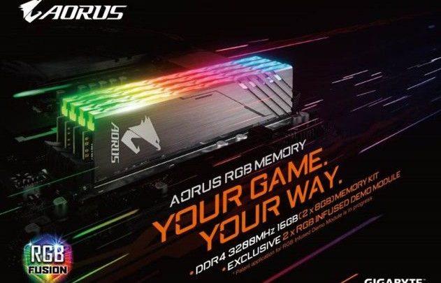 Photo of Gigabyte anuncia las memorias AORUS RGB con kits de 3200 MHz