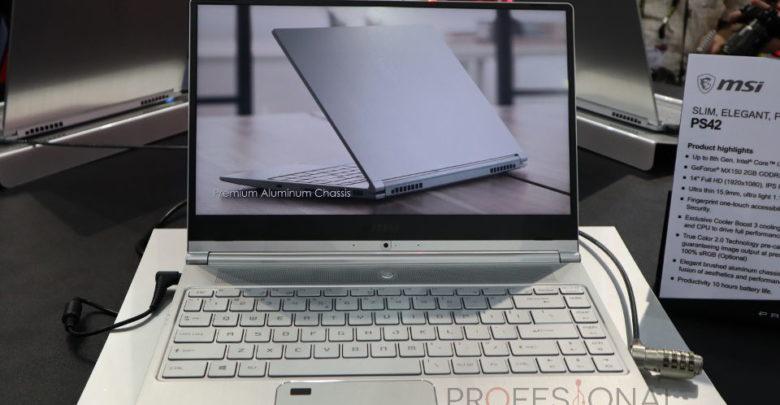Photo of MSI PS42 es el ordenador portátil más compacto de la marca con solo 1,19 Kg