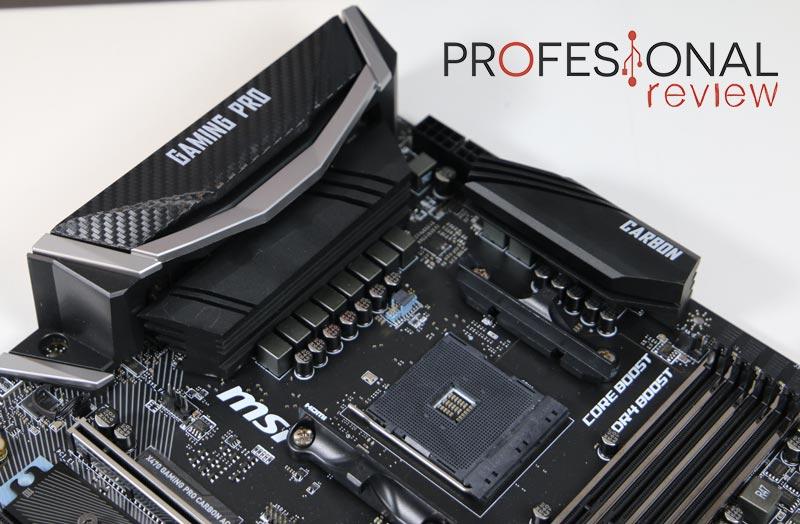 MSI X470 Gaming Pro Carbon Review en Español (Análisis completo)