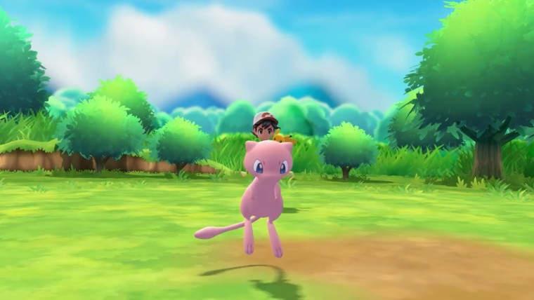 Mew está incluido dentro de la Poké Ball Plus