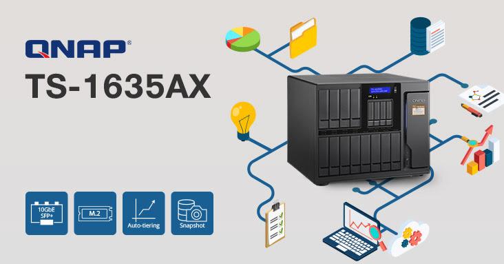 Nuevo NAS QNAP TS-1635AX