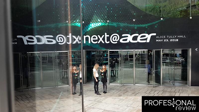 Evento Acer 2018