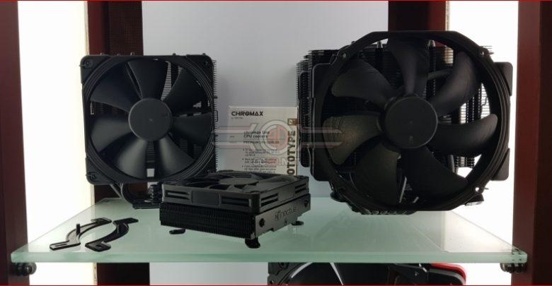 Photo of Noctua muestra nuevos ventiladores y disipadores Chromax totalmente negros