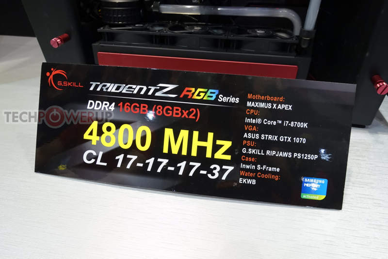 Nuevas memorias G.Skill Trident Z DDR4 a 5066MHz