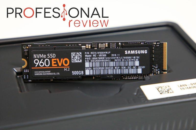 SSD SAMSUNG 960 EVO M.2 NVMe
