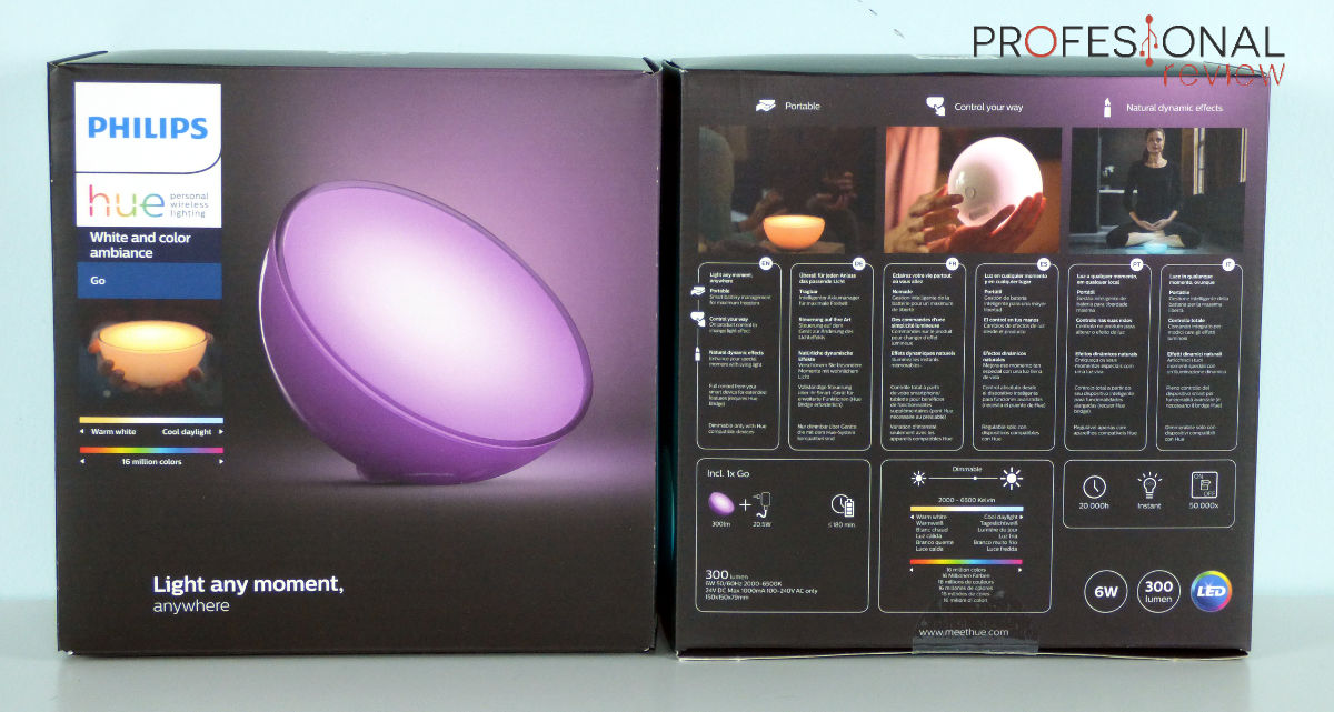 Philips HUE Go Review