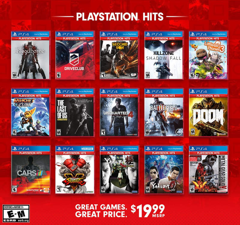 Sony Playstation Hits Los Mejores Juegos De Ps4 Por 19 99 Euros
