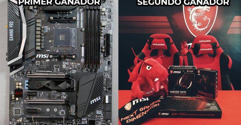 Photo of Sorteo placa base MSI X470 + Pack de periféricos