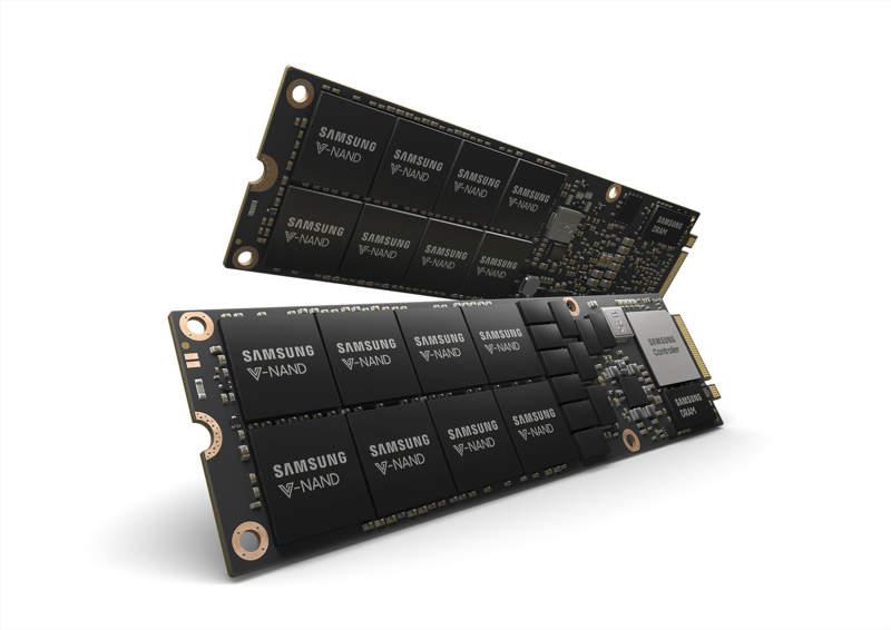 Samsung NF1, un SSD NVMe de 8 TB